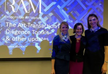 Interview with Dr. Anne-Laure Bandle, Responsible Art Market (RAM)