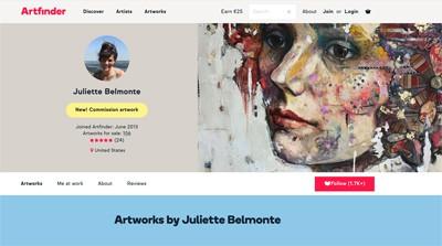 Juliette Belmonte Artfinder