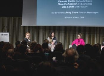 TALKING GALLERIES 2019 ADDRESSES GENDER IMBALANCE IN THE ART WORLD